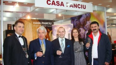 President Anton Caragea at International Wine Fair-2014