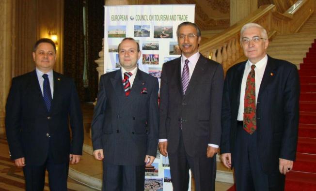 President Caragea and Qatar Ambassador