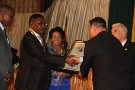 Congratulation for Academician Walter Mzembi
