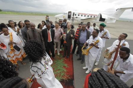 PRESIDENT DR. ANTON CARAGEA OFFICIAL VISIT TO ETHIOPIA-WORLD BEST TOURISM DESTINATION FOR 2015