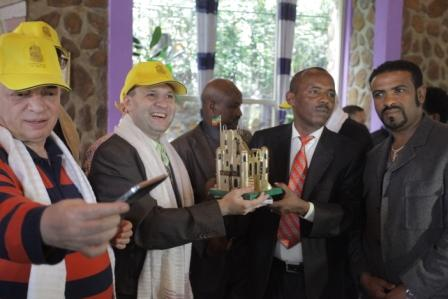 MAYOR GETINET AMARE WELCOMES EUROPEAN COUNCIL DELEGATION TO THE HISTORIC CITY OF GONDAR