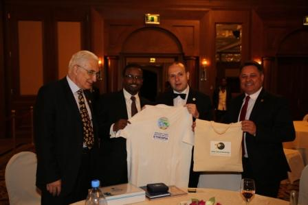 COOPERATION ON TOURISM AND CULTURAL PROMOTION ESTABLISHED BETWEEN MINISTER AMIN ABDULKADIR AND ECTT PRESIDENT-DR. ANTONCARAGEA