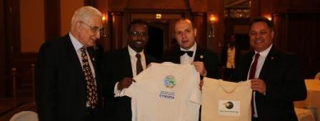 COOPERATION ON TOURISM AND CULTURAL PROMOTION ESTABLISHED BETWEEN MINISTER AMIN ABDULKADIR AND ECTT PRESIDENT-DR. ANTON CARAGEA