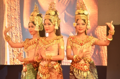 Apsara dance for Cambodia-WORLD BEST TOURIST DESTINATION FOR 2016