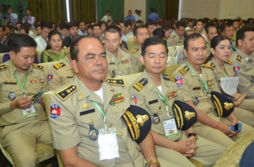 Cambodia Royal Army attends WORLD BEST TOURIST DESTINATION 2016 CEREMONIES