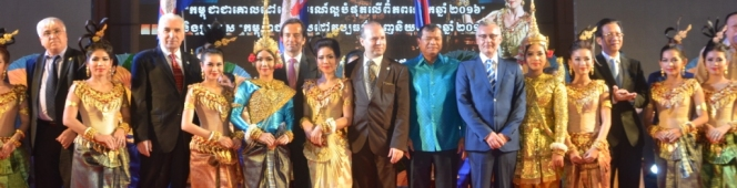 KINGDOM OF CAMBODIA IS THE HOST OF IMPRESSIVE 2016 WORLD TRAVEL AWARDS CEREMONY