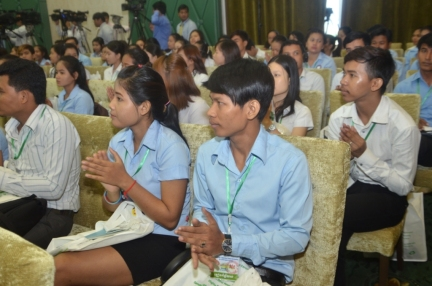Young people of Cambodia are the main beneficiaries of Prime Minister Hun Sen policies and of World Best Tourist Destination status
