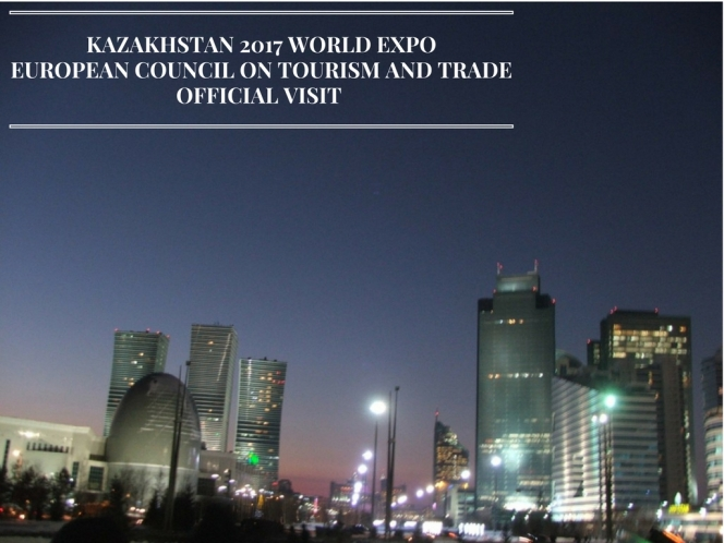 WE WILL NEVER FORGET YOUR CONTRIBUTION TO ASTANA WORLD EXPO 2017! KAZAKHSTAN PRESIDENT
