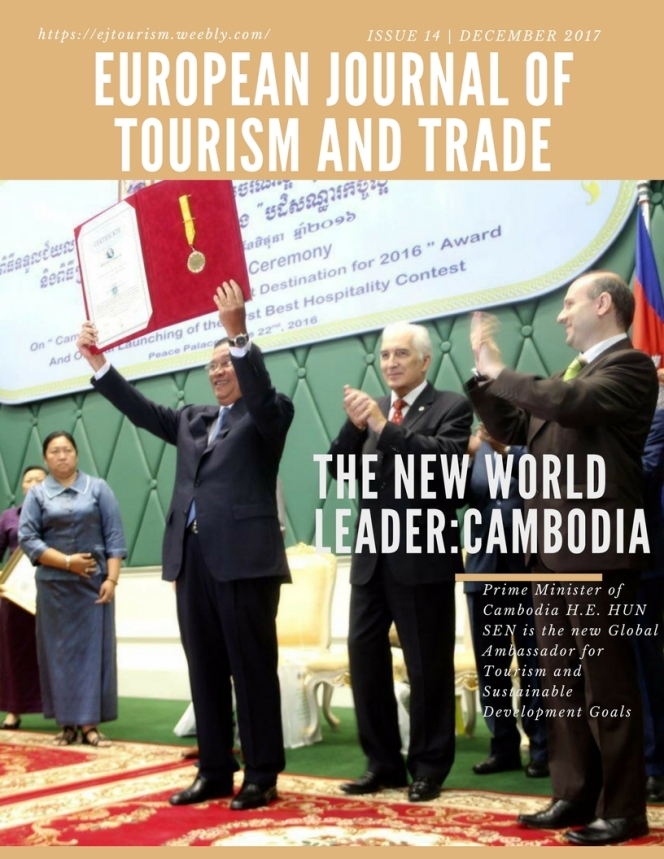 H.E. HUN SEN PRIME MINISTER OF CAMBODIA IS THE NEW GLOBAL AMBASSADOR FOR TOURISM AND SGD`S