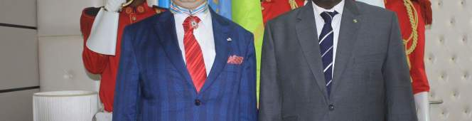 WORLD TOURISM PRESIDENT DECORATED FOR EFFORTS TO BUILD A BETTER WORLD USING TOURISM ANDCULTURE