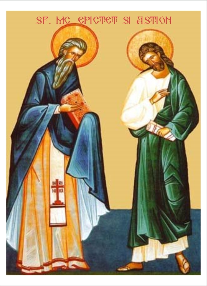 ACROSS EUROPE CELEBRATION START TO MARK SAINTS EPICTETUS-PRESBYTER AND ASTION-HOLY MONK